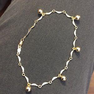Jewelry - 14k link bracelet with dangles